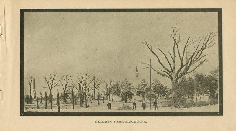 Hemming Park Since Fire