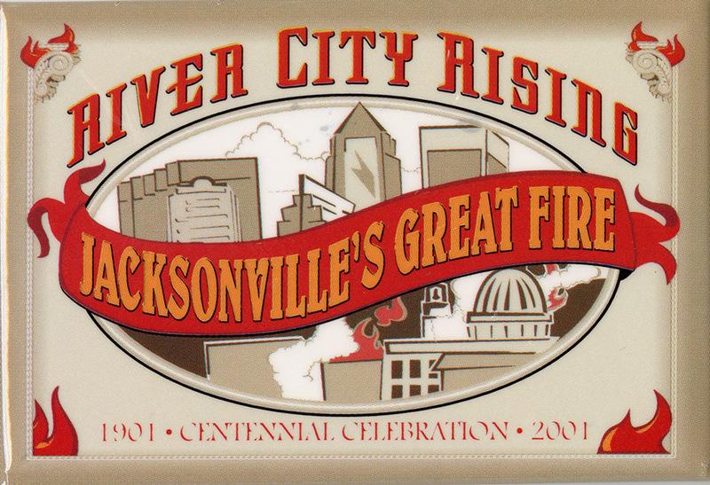 River City Rising Commemorative Button