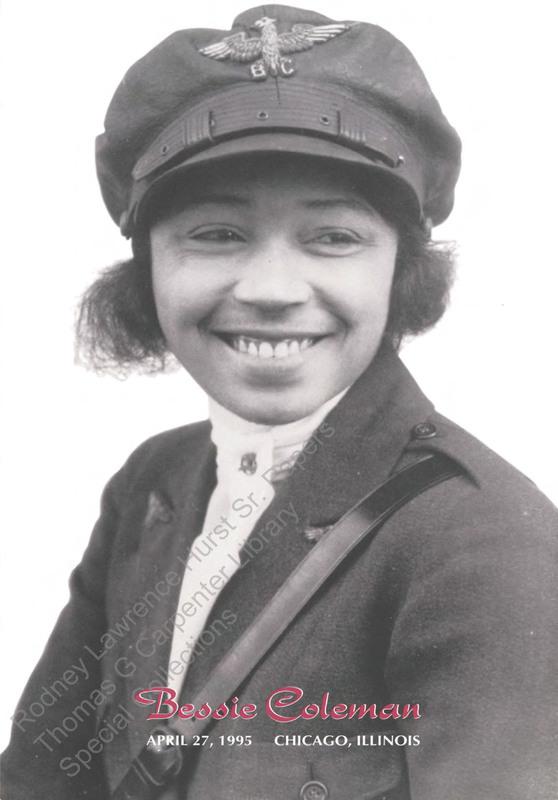 Bessie Coleman.  Black Heritage Stamp Series.