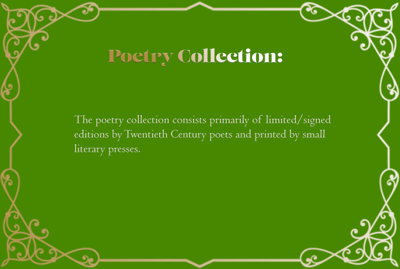 Narrative card: Poetry Collection
