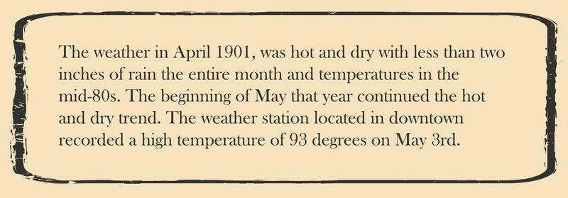 Narrative card: Weather