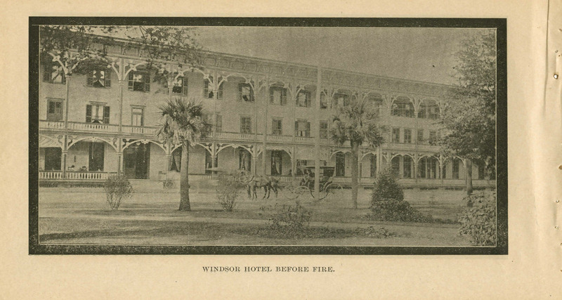 Windsor Hotel Before the Fire