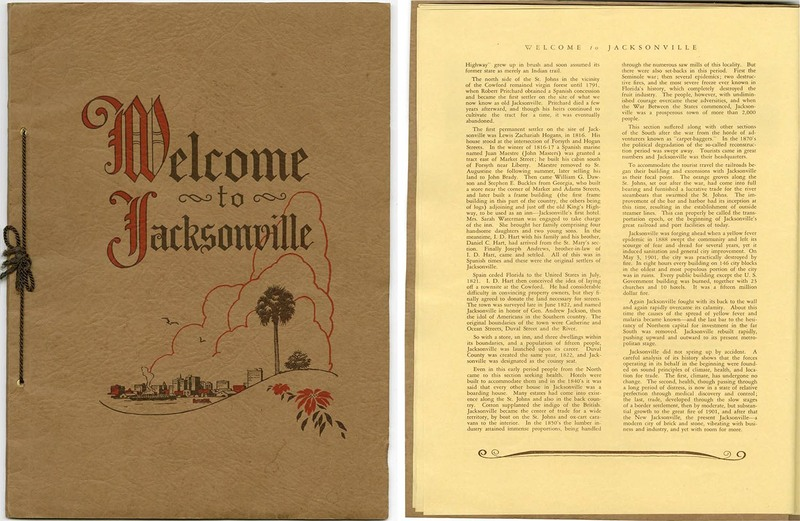 Welcome to Jacksonville booklet