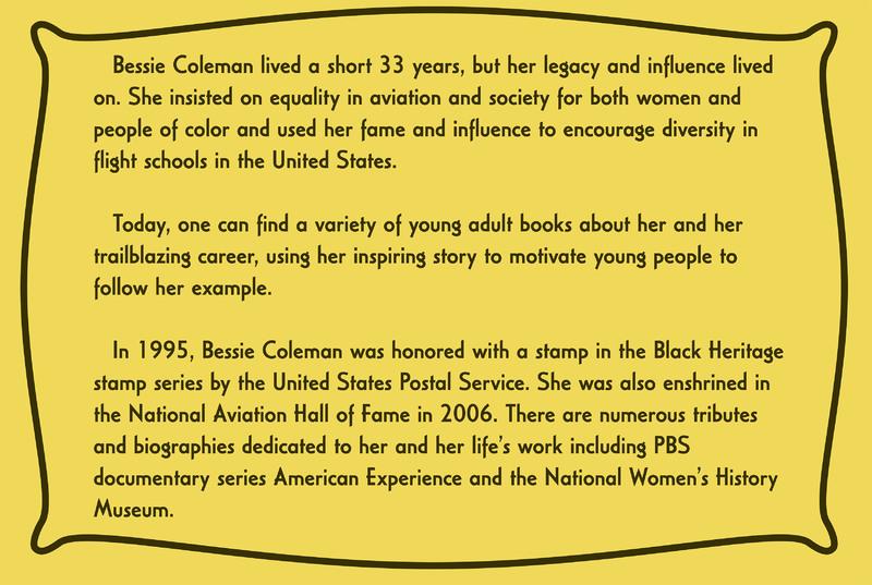 Bessie' s Legacy Information Card