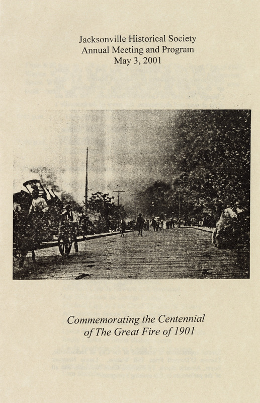 Commemorating the Centennial of the Great Fire of 1901