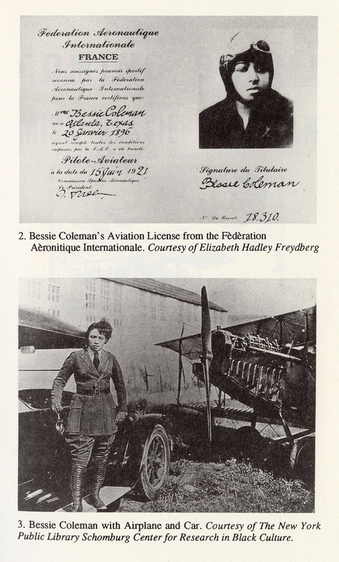 Excerpt from the book Queen Bess: Daredevil Aviator